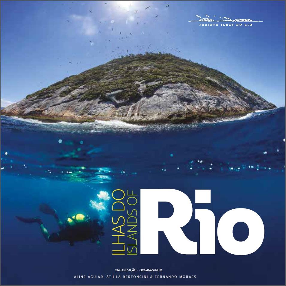 Capa do livro de fotografia ILHAS DO RIO